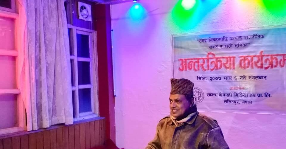 Civic journalism for republicanism – Bhawani Baral