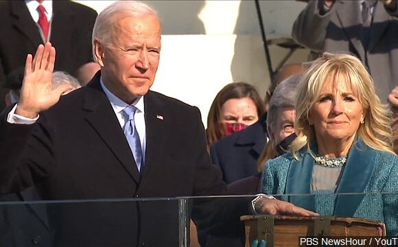 Joe Biden, Kamala Harris sworn in at peaceful inauguration