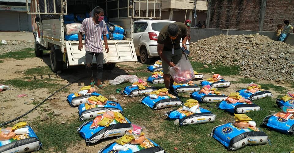 Change Action Nepal and Samata Media Center help the poor