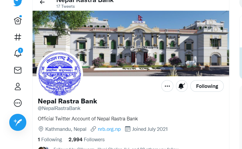 NRB launches its twitter account- at long last!
